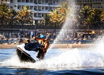 motos agua marbella